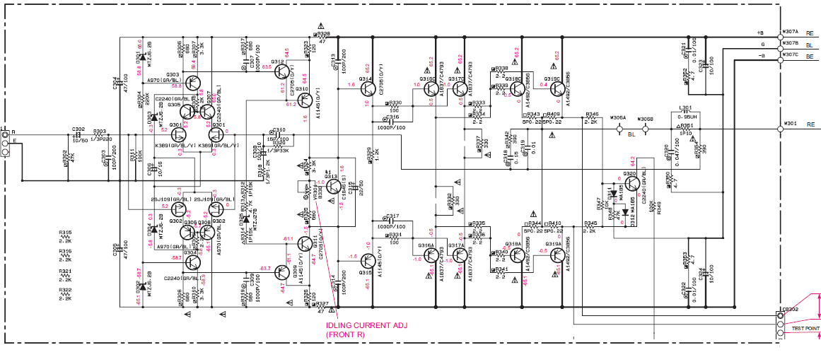 Schema Elettrico Yamaha Ttr : Amplificatore mp xp pagina costruire hifi